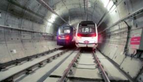 publicidad en los tuneles del metro