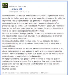 Comentario de Toñi Ruiz